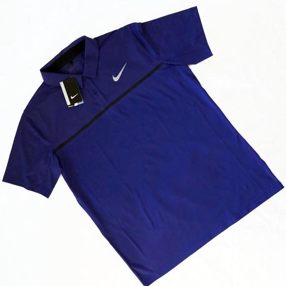 cce934209 Nike Shirts | Golf Mobility Remix Polo Lg | Poshmark